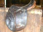 cracked or moldy saddle